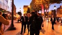 Inauguration de la Boutique Orange Champs Elysees