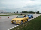 Kajza BMW M3 E36 onboard - spirited driving - part 1/4. Supersprint street exhaust with 784302 decat
