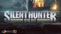 SILENT HUNTER ONLINE - Engaging a Convoy in Silent Hunter