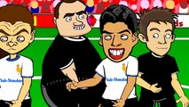 LUIS SUAREZ BITE by 442oons Suarez Evra Ivanovic football cartoon   funny moments in football