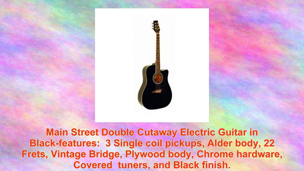 Acoustic Electric Guitars Bass Beginner Pack Acoustic Dreadnought Cutaway Guitar
