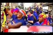 Celebracion del Barça - TRICAMPIONS - Viva la vida Camp Nou Festa