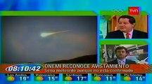 Ovni Chile, Cae supuesto Ovni en costas de Iquique / Caída de supuesto meteorito en Chile | 2012