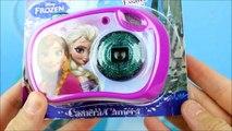 Reine des Neiges Olaf maxi jouets plein Frozen Unboxing giant basket