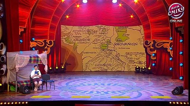 Хоббиты - 'Manhattan'  и Сергей Сивохо- Лига смеха, юмористическое шоу, шутки
