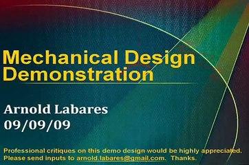 Mechanical Demonstration Portfolio - SPICEsim ESO Ltd.