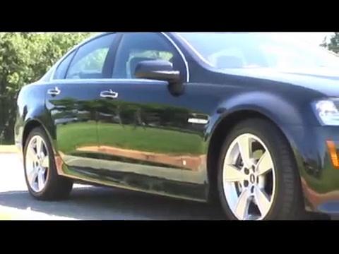 2008 Pontiac G8, GT review