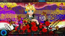 Project Diva F PS3 Kagamine Hachi hachi Flower Fight (Rin Len Version)