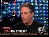 Larry King: Jon Stewart on Partisanship