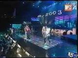 Blue - One Love (MTV Asia Awards, Singapore Indoor Stadium, 24.01.2003)