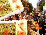 A Leicester Caribbean Carnival Street Parade 2015 Pt1a( Mid Granby Street from Clock Tower ) Aug 1st
