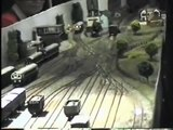 Model of a gravity shunting yard