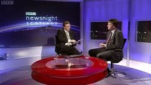 LibDem Michael Moore crashes and burns on Newsnight Scotland
