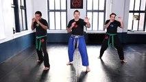 Krav Maga Training|Inside Defense against Punches Part 2|Self Defense Fighting Techniques