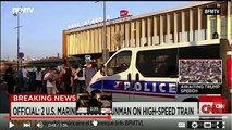 France Train Attack PSYOP - American Heroes
