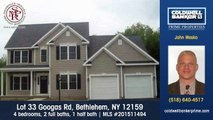 Homes for sale Lot 33 Googas Rd Bethlehem NY 12159 Coldwell Banker Prime Properties