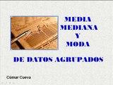video 1 Media, Mediana y Moda de Datos Agrupados
