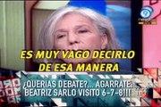 Duro de Domar - ¿Querías debate? Agarrate: Beatriz Sarlo visitó 678!!! 25-05-11