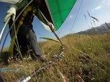 First flight above Mt. Vettore - Castelluccio di Norcia -