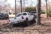 Hillarious Video - Chevy Silverado Stuck Mudding....