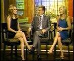 Becki Newton on Regis and Kelly (June 1, 2007)