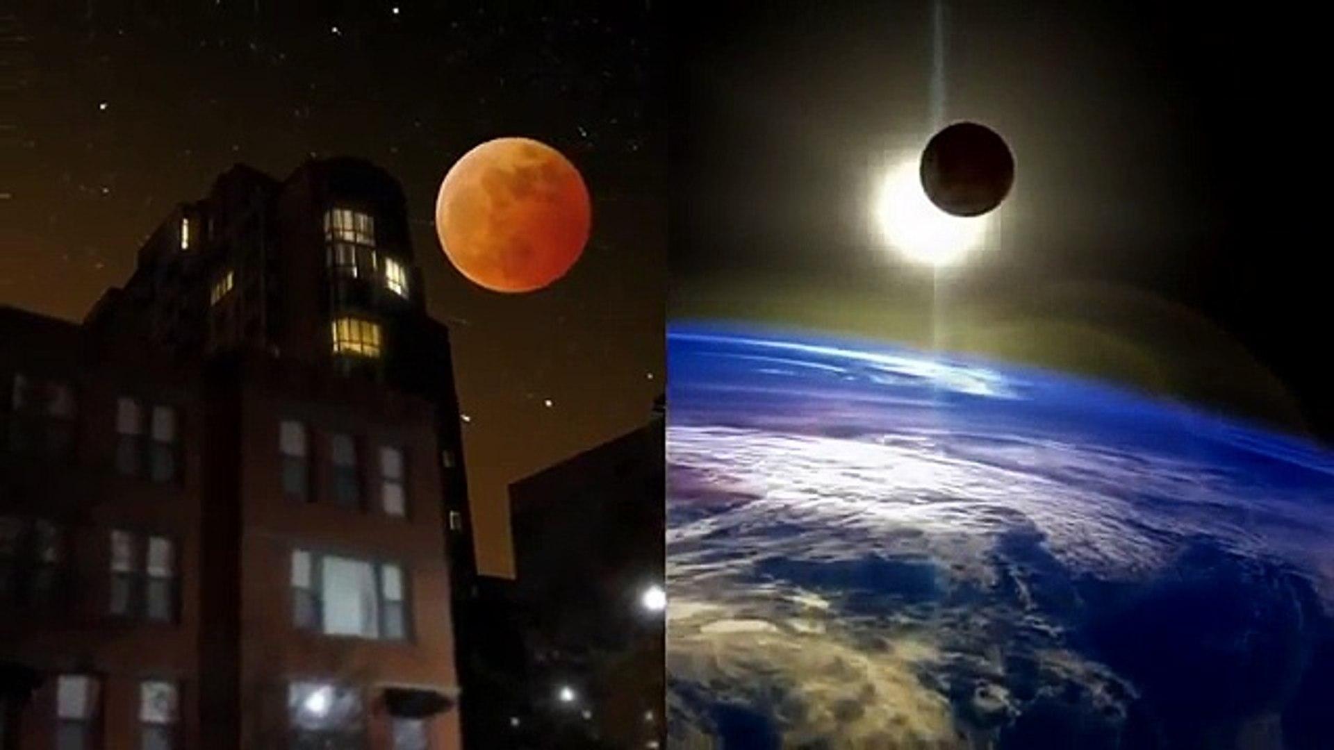 Dangerous - Blood Moon rare total lunar eclipse (NASA STREAM)
