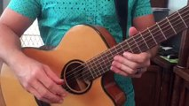 Good Good Father acoustic guitar tutorial lesson for Aden and Rachel