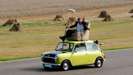 Mr. Bean Rides His 1976 Mini 1000 Again | Rowan Atkinson's Iconic Car