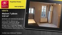 A vendre - Maison - BRIENON SUR ARMANCON (89210) - 7 pièces - 110m²