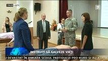 Asistenţi medicali şi militari din R. Moldova vor învăţa de la specialiști americani cum să acționeze în situaţii de urgenţă, astfel încât să salveze cât mai multe vieţi. Acțiunea este organizată cu sprijinul Ambasadei SUA în R. Moldova
