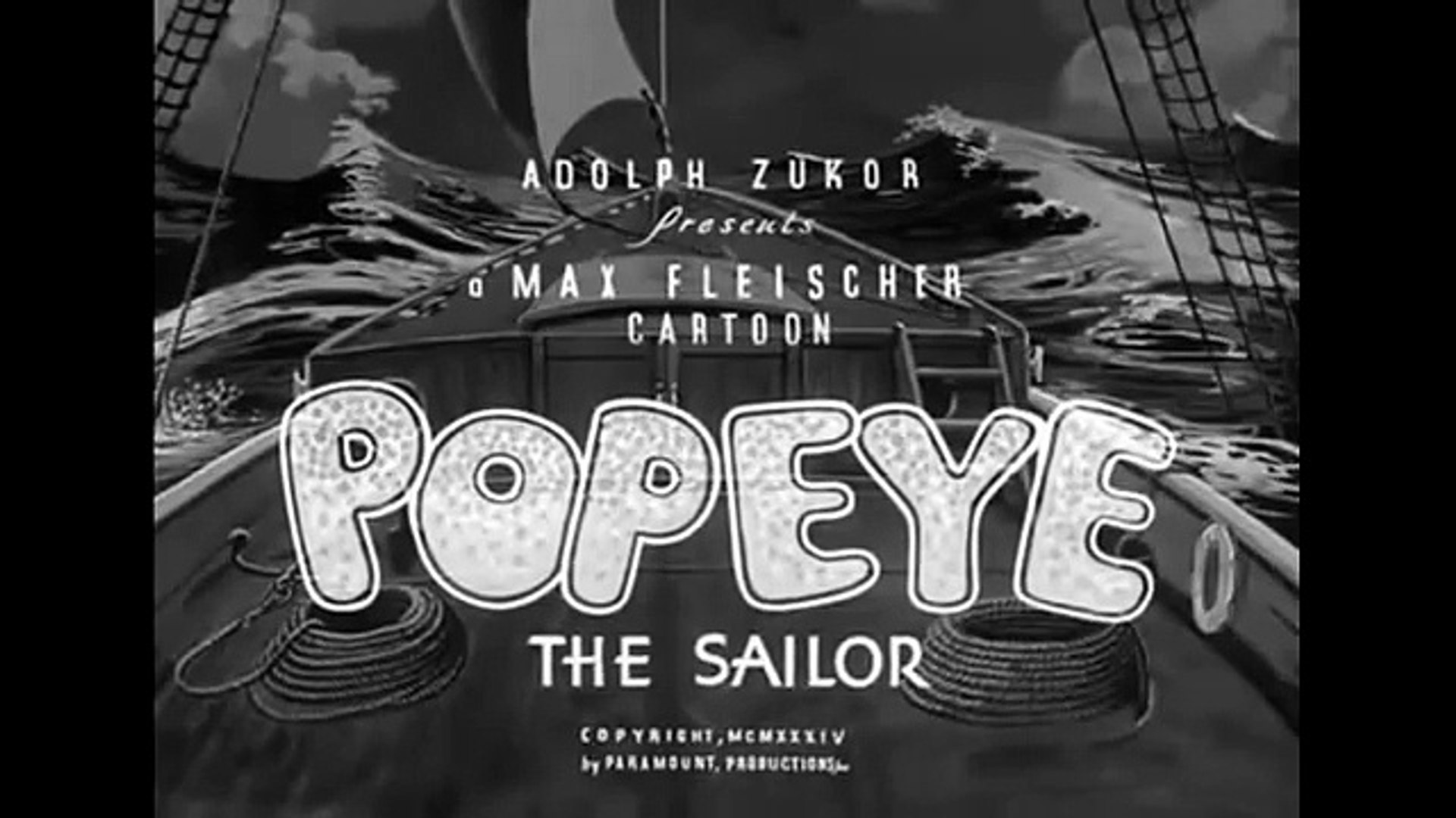Popeye The Sailor The Dance Contest Video Dailymotion