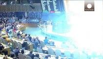 رای قاطع به اهتزاز پرچم فلسطین در سازمان ملل متحد