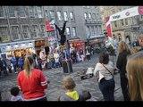 2015 Edinburgh Scotland Fringe Festival Flail Family Band Even Though