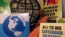 Medha Patkar invites peoples to the World Bank protest