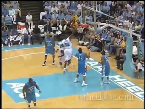 Carolina Basketball Alumni Game Highlights