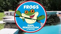 Swimming Pool Waterfall Installations Bucks County, PA | Frog's Pool Renovation & Repairs