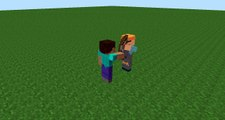 minecraft steve dies anim final battle of the animations