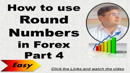 How to use Round Numbers in Forex Part 4, Forex Trading Training Course in Urdu Hindi