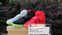 Nike Yeezy 2 Three Classic Sneakers Which your favor !Solar Red @ Red October @Pure Platinum  shoes