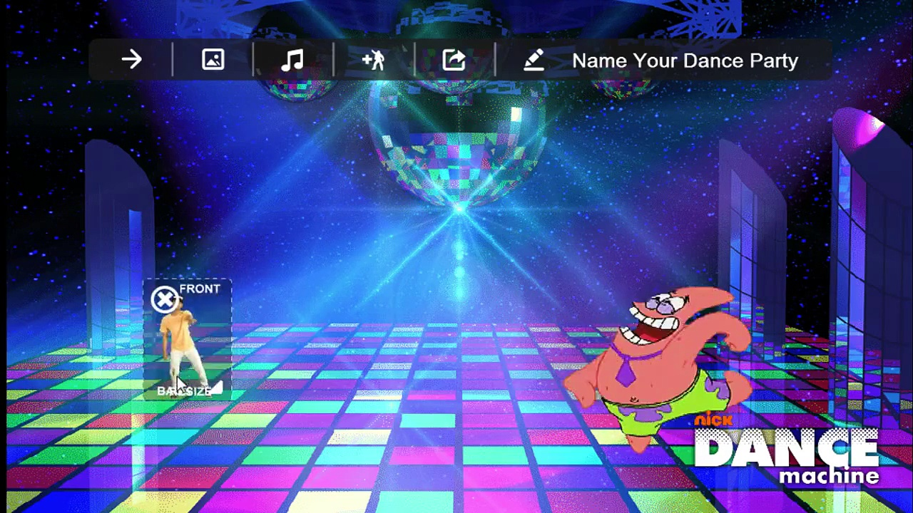 Nickelodeon Dance Machine Gameplay – Featuring A Cat Dancing, A Gorilla Dancing, & A Hamster Dancing