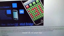howto: MIDI control with iPhone / i3L_v0.2 / Ableton