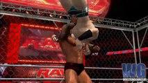 WWE SmackDown vs RAW 2011 - Cage Match - Sheamus vs Randy Orton
