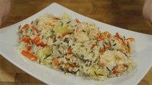 Recette sympa de salade de riz sauvage aux crevettes