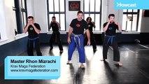 Krav Maga Training|How to Do a Defense Forward Kick|Self Defense Fighting Techniques