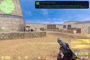 Counter-Strike 1.6 VS Counter-Strike:Source AWP Gameplay and Comparision