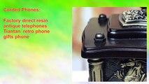 Factory direct resin antique telephones Tiantan retro phone gifts phone