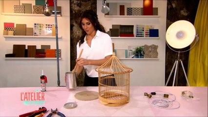 Lampadaire Cage à oiseaux - L'atelier déco