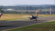 F-22 Raptor Stealth Takeoff From Germany Tyndall AFB HD
