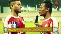 TWO GUYS, ONE MIC - Shamil Sharif & Sherif El-Masri (Courts Young Lions)