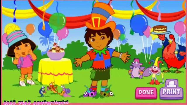 Dora The Explorer Doras Super Silly Costume Maker Full Game cartoon Episode in English 20